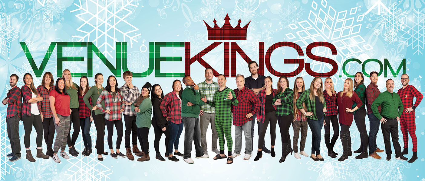 VenueKings Team Christmas 2015